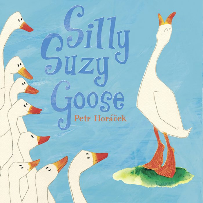 Silly Suzy Goose board book